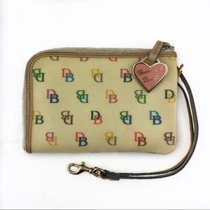 Dooney & Bourke Wallet Signature Colorful Heart